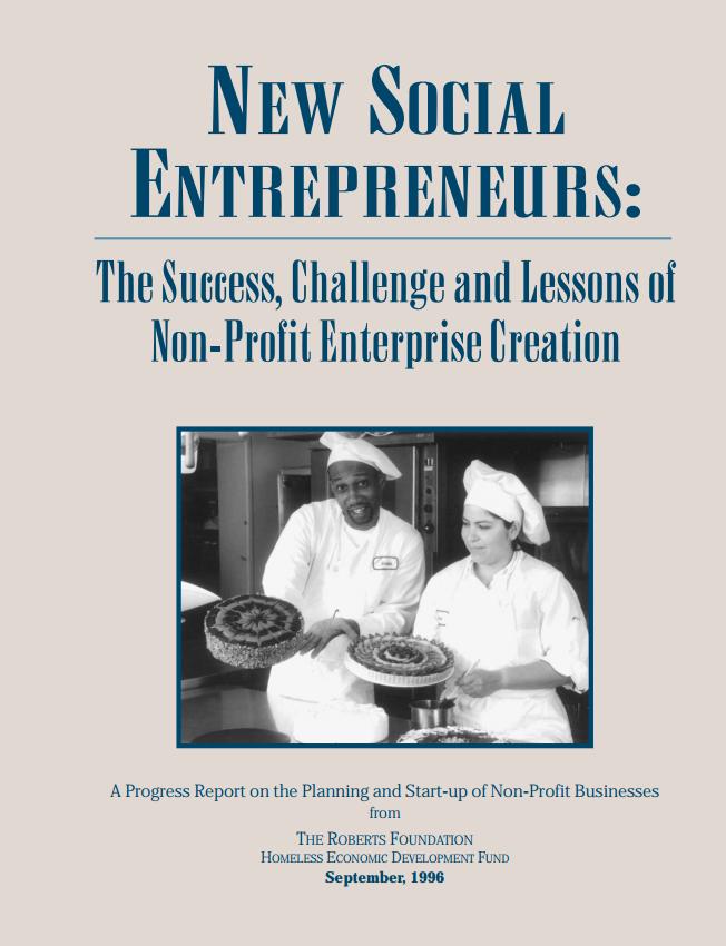 New Social Entrepreneurs Cover